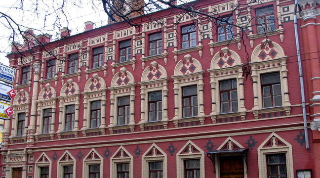 Здание государственного литературного музея