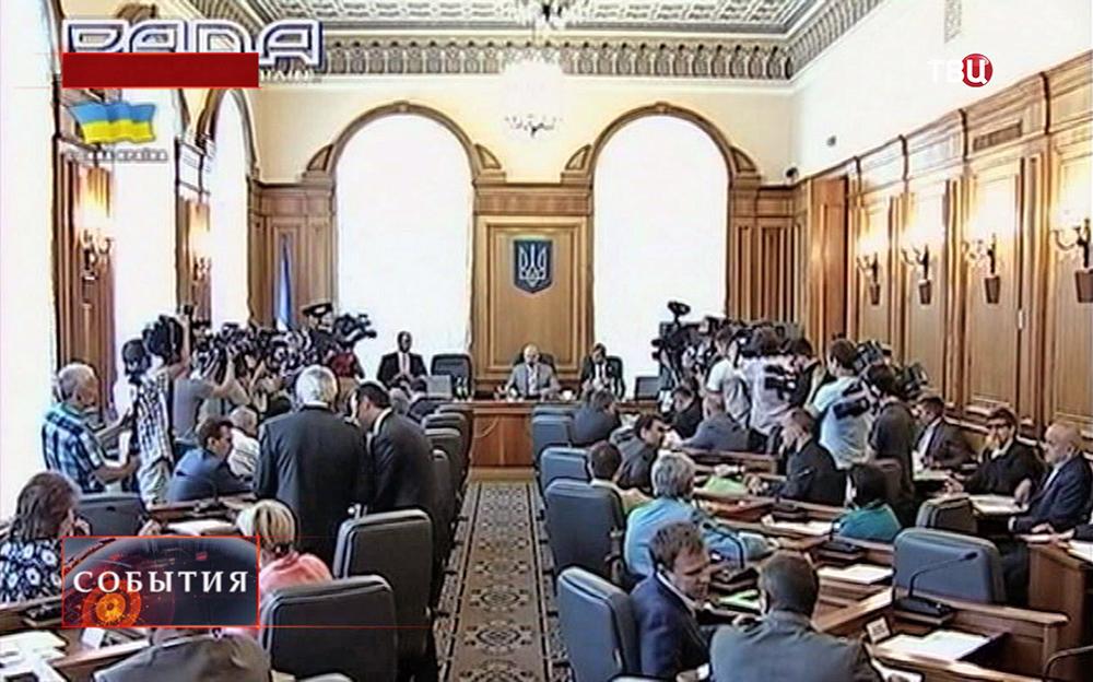 Пресс-конференция Верховной Рады Украины