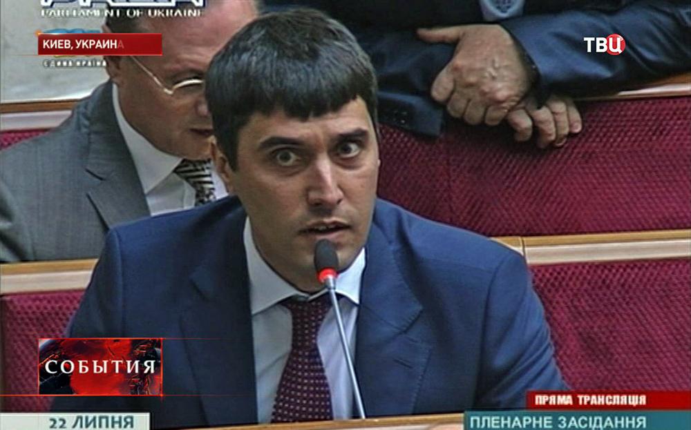 Депутат Верховной Рады Украины Николая Левченко из Партии регионов