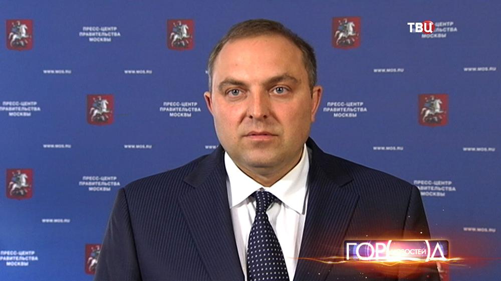 Начальник ГУП «Московский метрополитен» Дмитрий Пегов