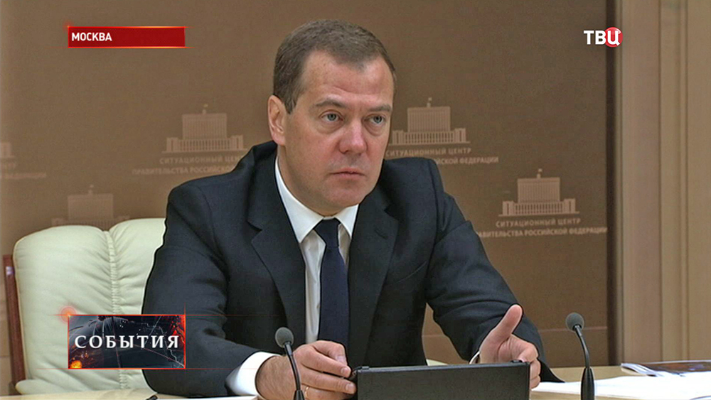 Глава правительства РФ Дмитрий Медведев