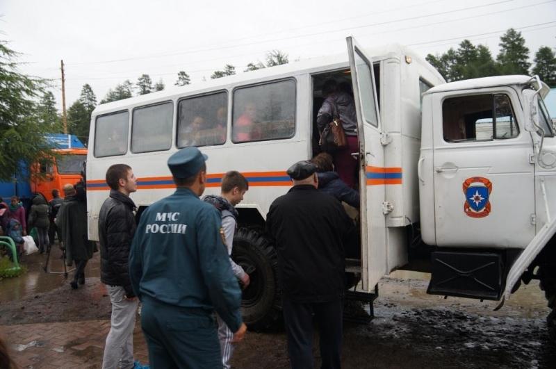 Эвакуация детей в Магаданской области
