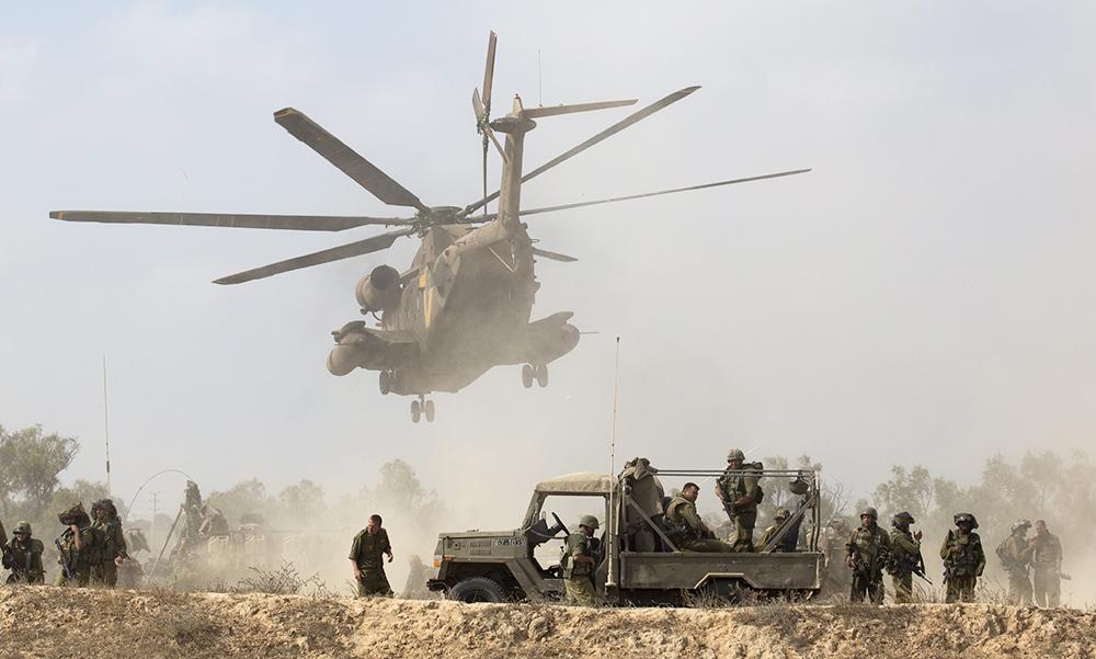 Спецоперация израильской армии в секторе Газа