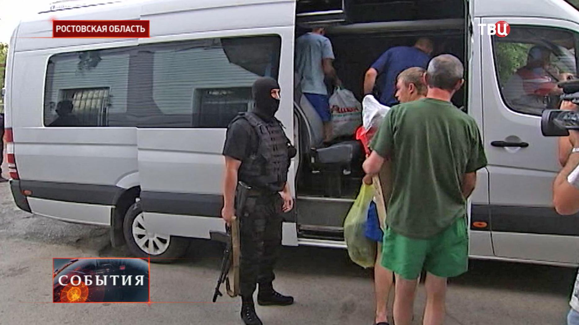 Раненые украинские военные