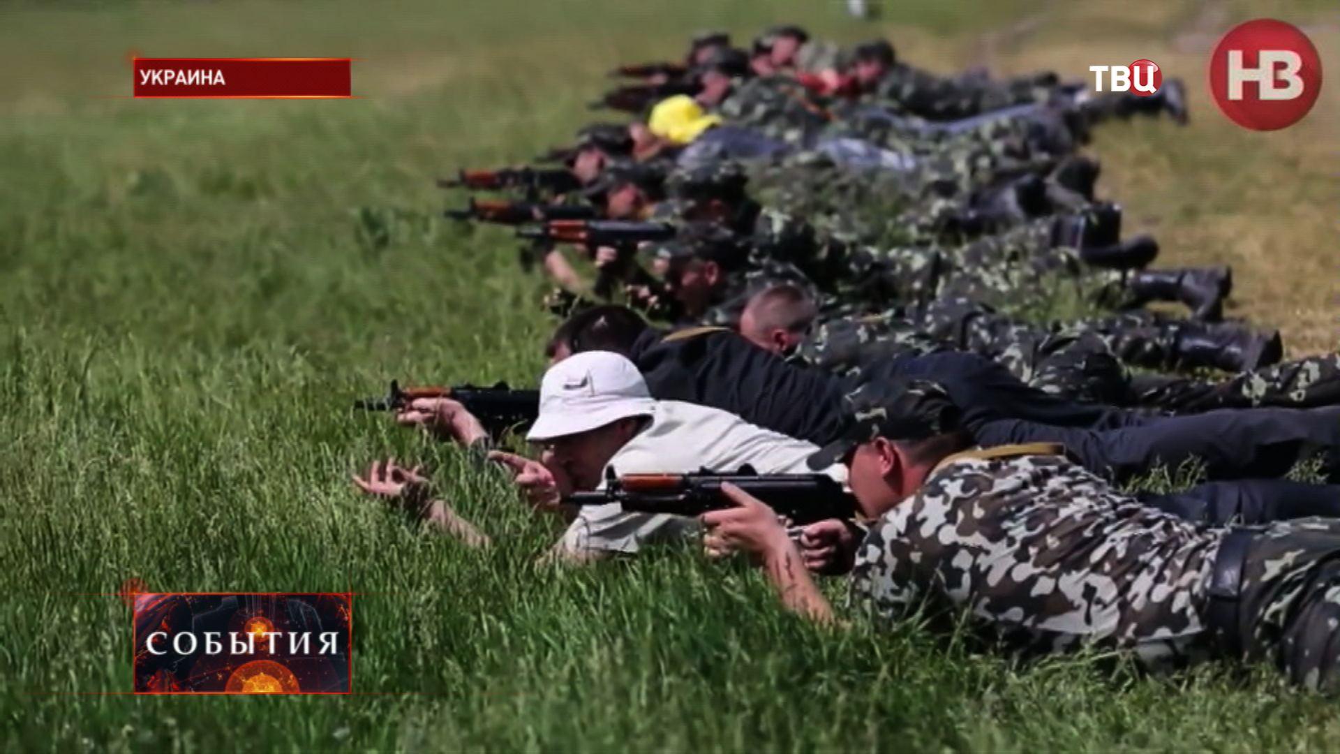 Учения украинских наемников