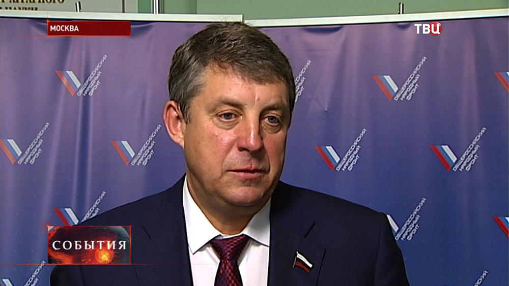 Член центрального штаба ОНФ Александр Богомаз