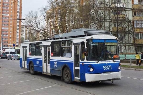 Троллейбус №36