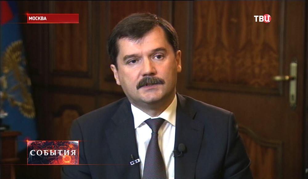 Руководитель федерального агентства воздушного транспорта РФ Александр Нерадько