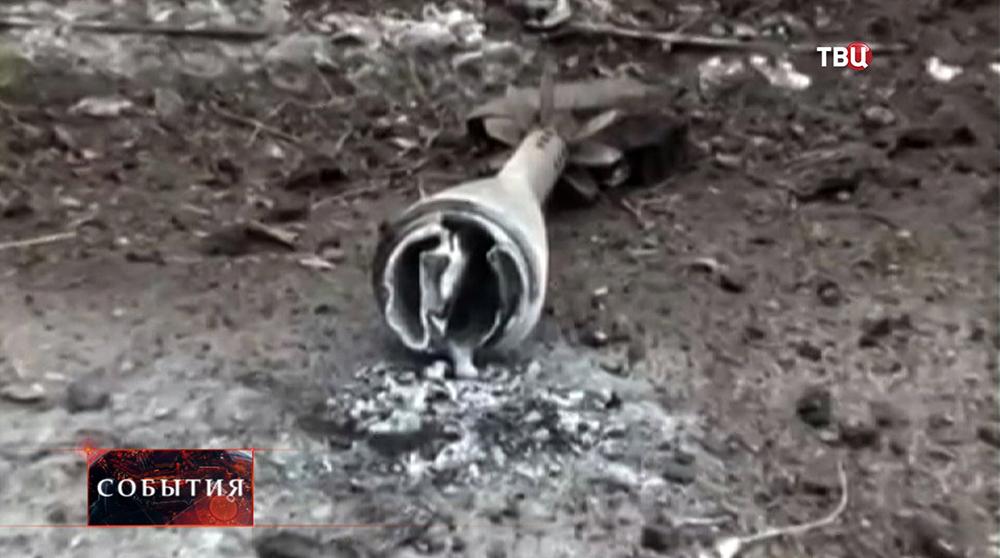 Хвостовик фосфорной бомбы