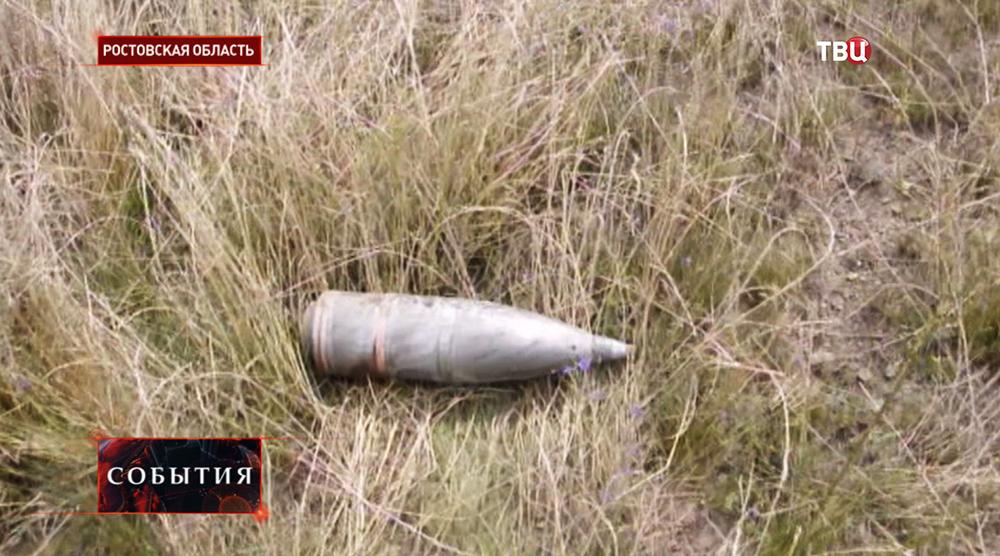Последствия обстрела Ростовской области со стороны Украины