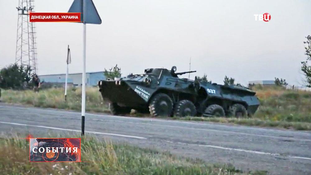 Военная техника народных ополченцев