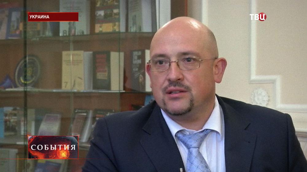 Директор департамента контрразведки Службы безопасности Украины Виталий Найда