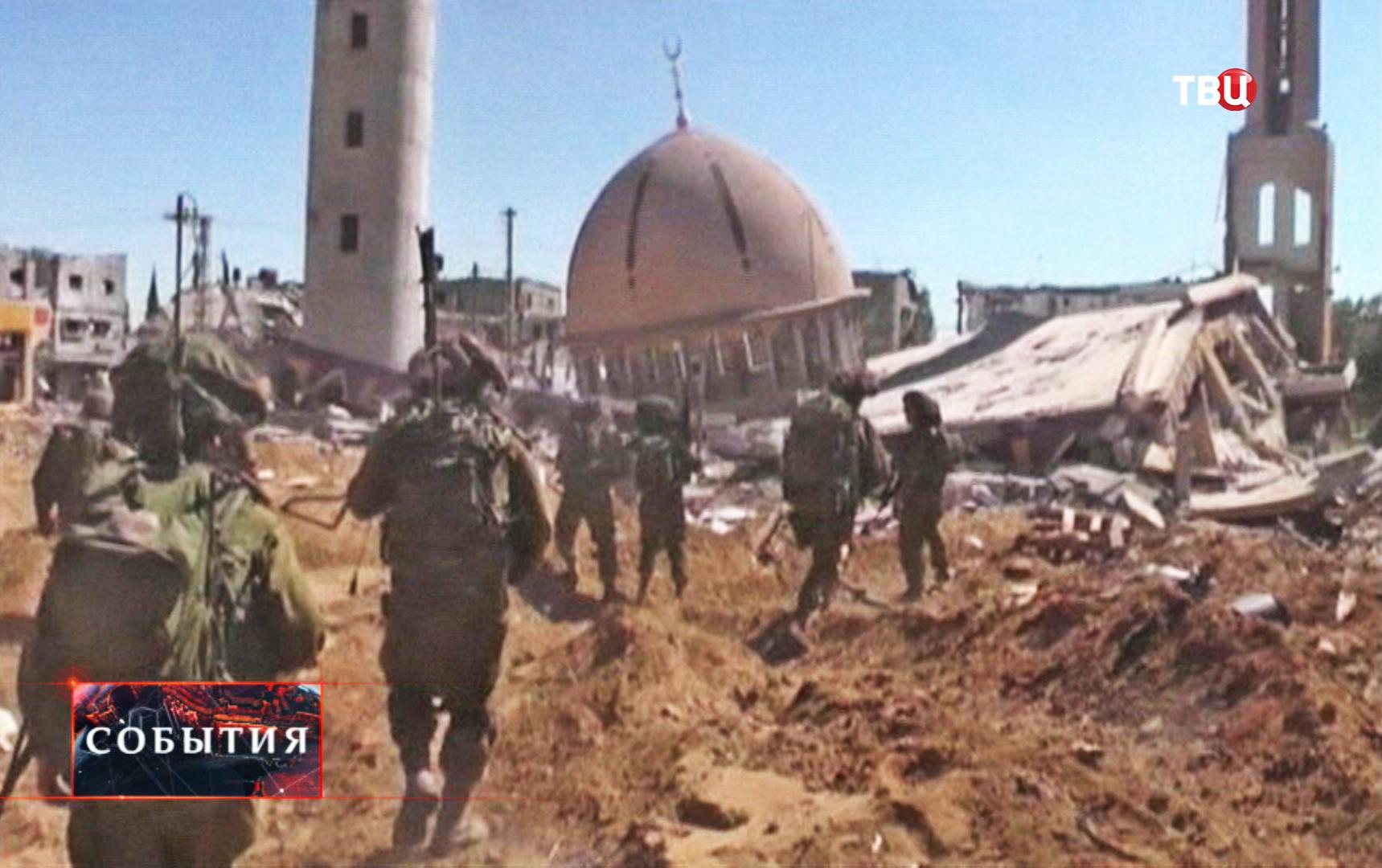 Боевые действия в секторе Газа