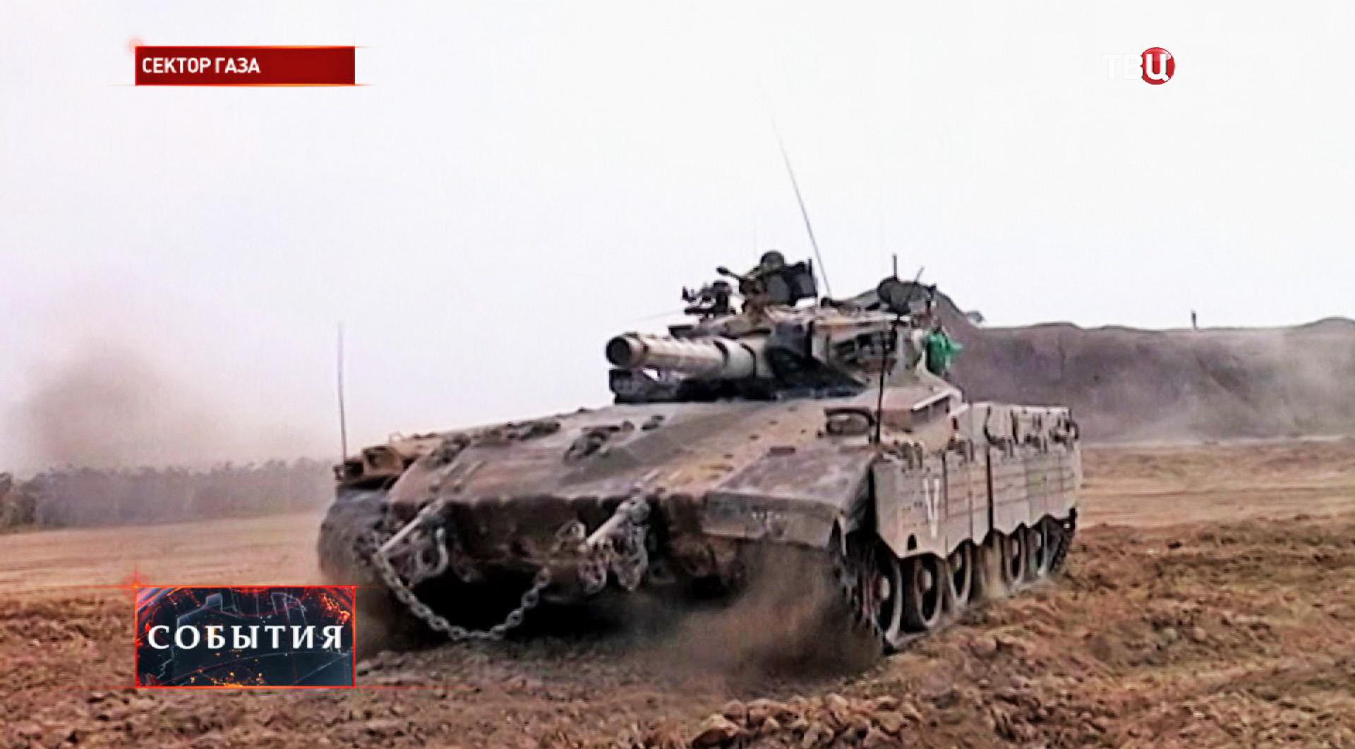 Танк израильской армии