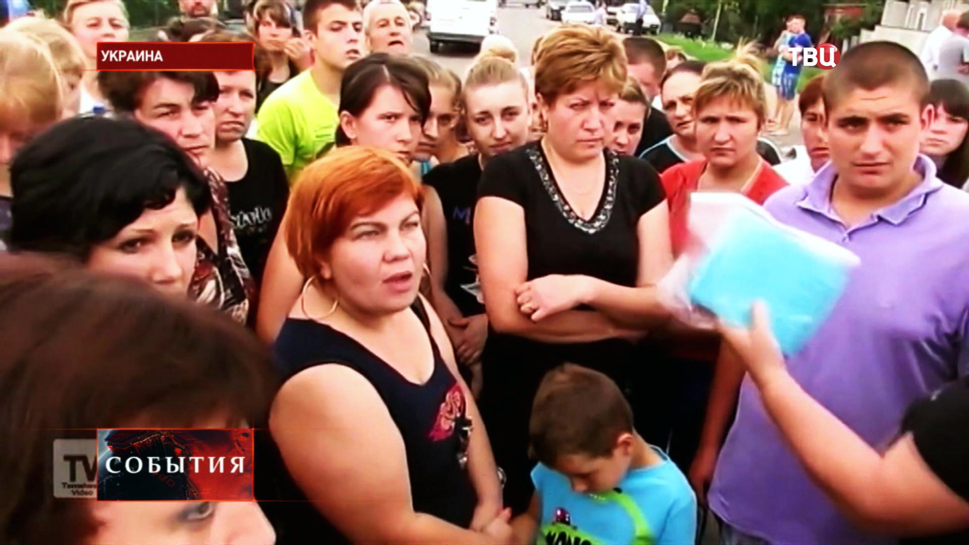 Матери и жены украинских военнослужащих требуют прекращения войны