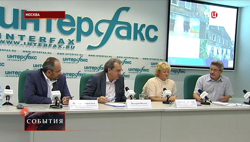 Пресс-конференция ОНФ