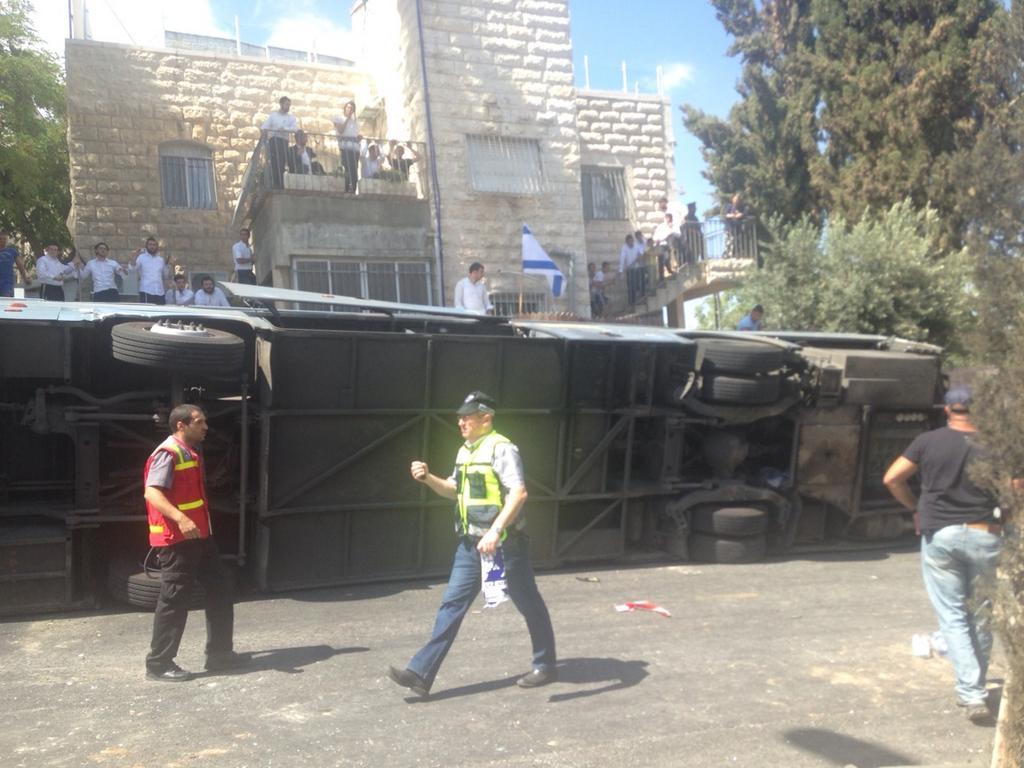 Иерусалим ДТП