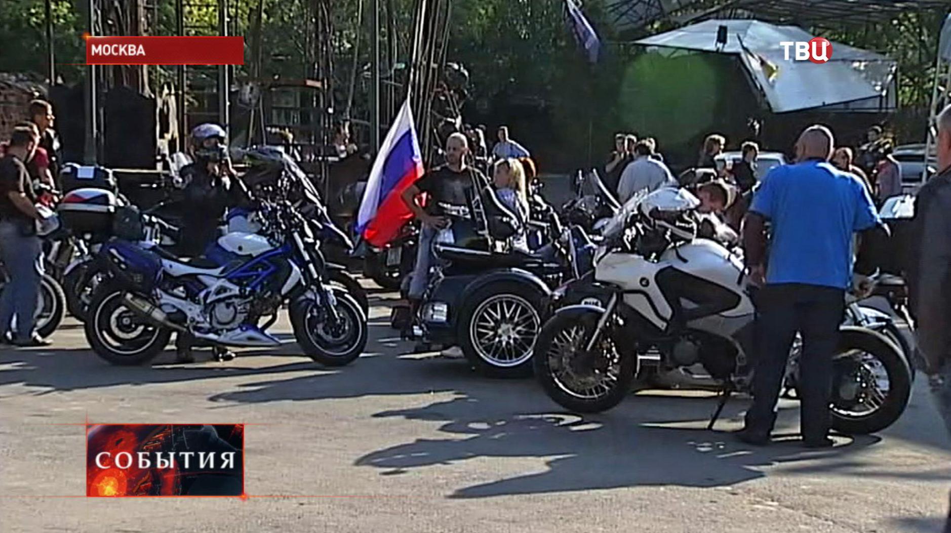 """""""Триумфальное"""" шоу клуба """"Ночные волки"""""""