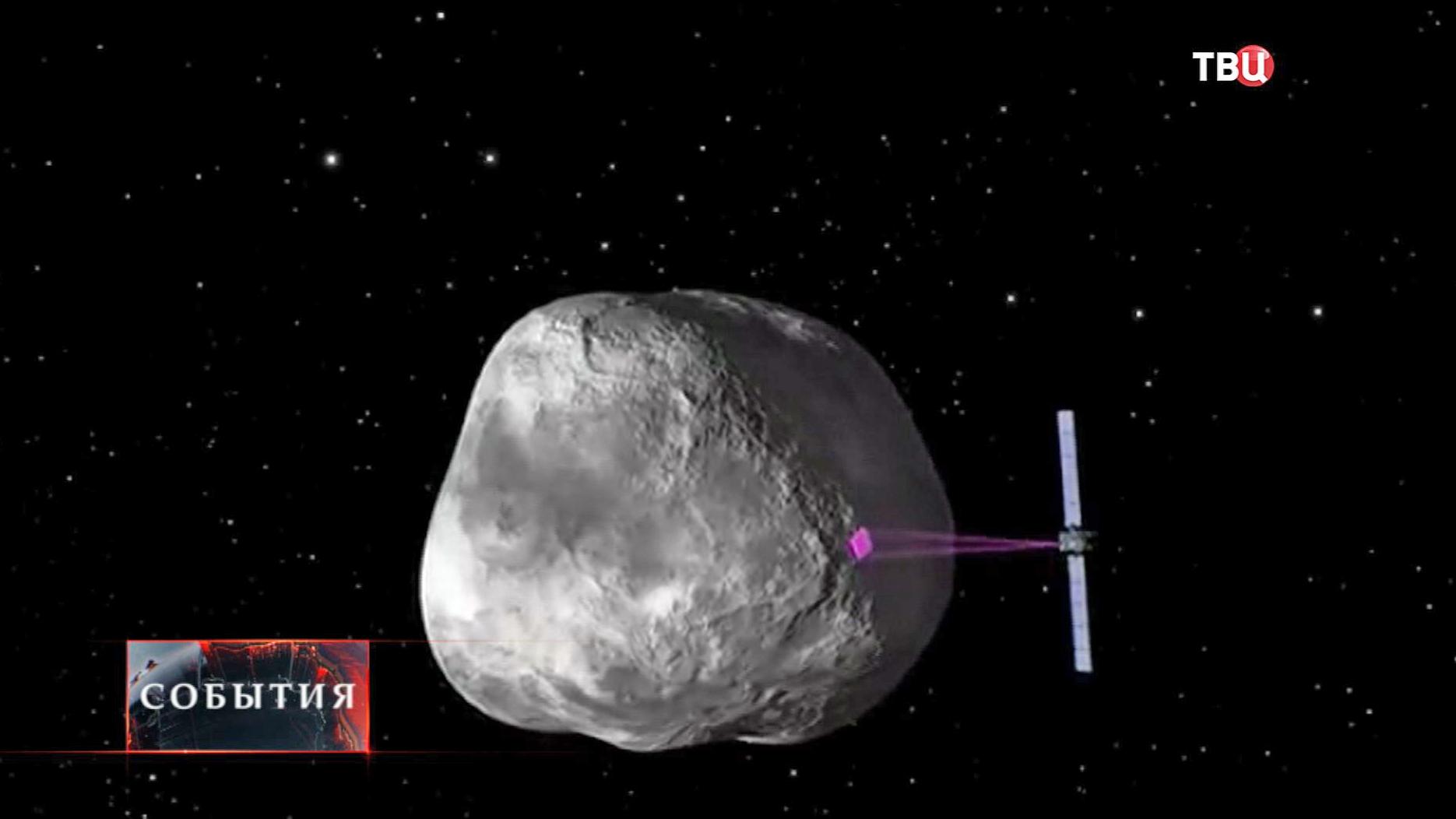 Космический аппарат Rosetta сканирует комету Чурюмова-Герасименко