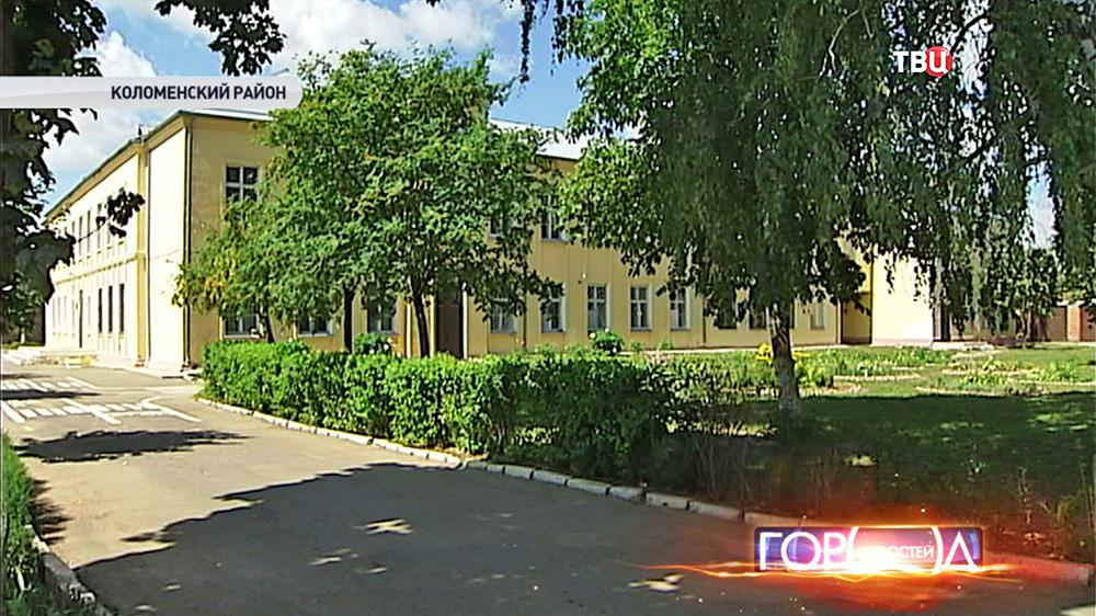Здание школы в Коломенском районе