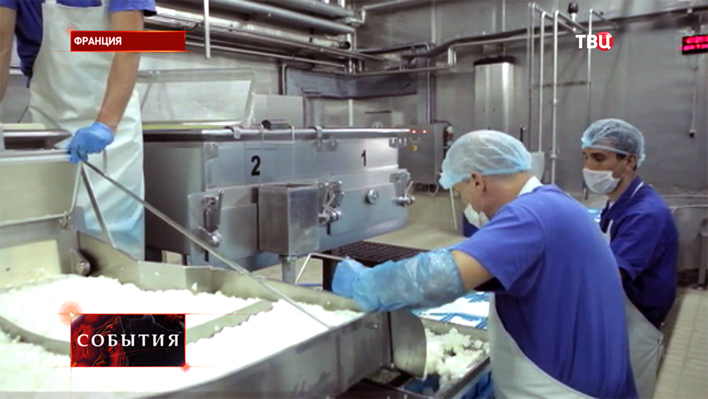 Производство сыра во Франции