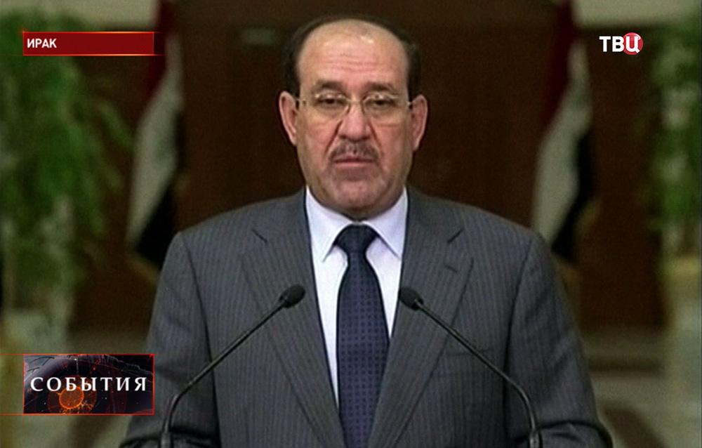 Премьер Ирака Нури аль-Малики