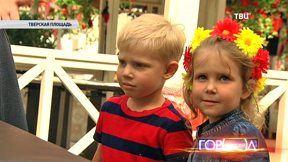 Дети на ярмарке