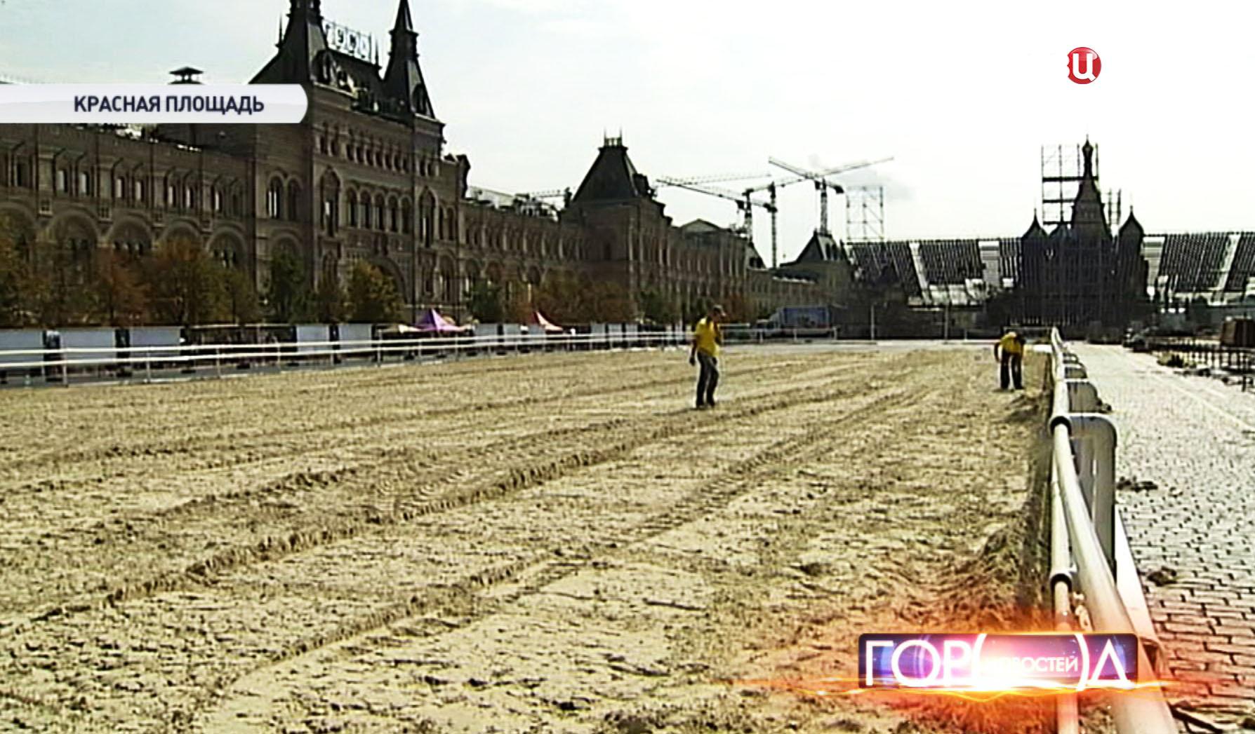 """Подготовка к фестивалю военных оркестров """"Спасская башня"""""""