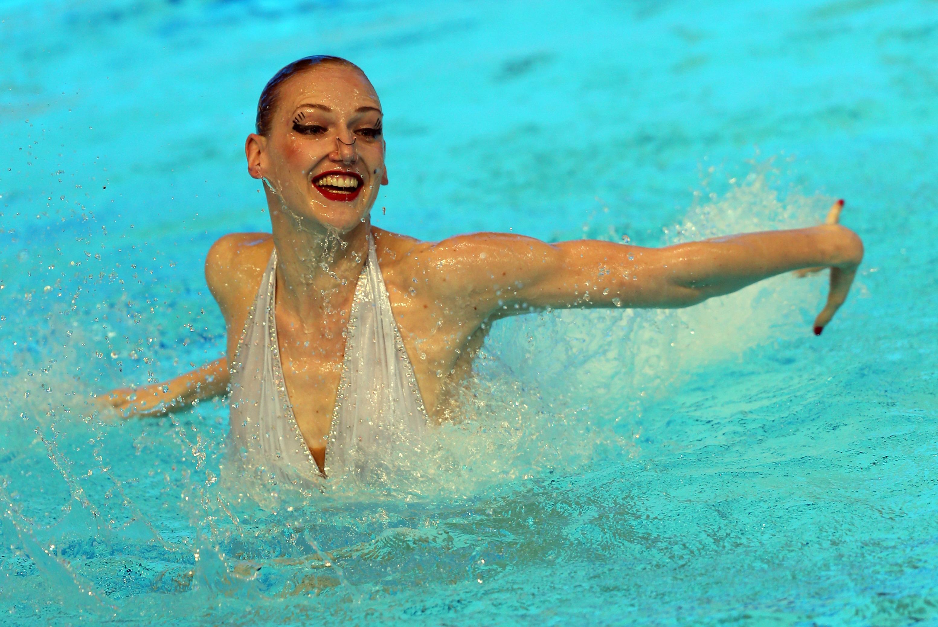 Синхронное плавание голые девочек 19 фотография