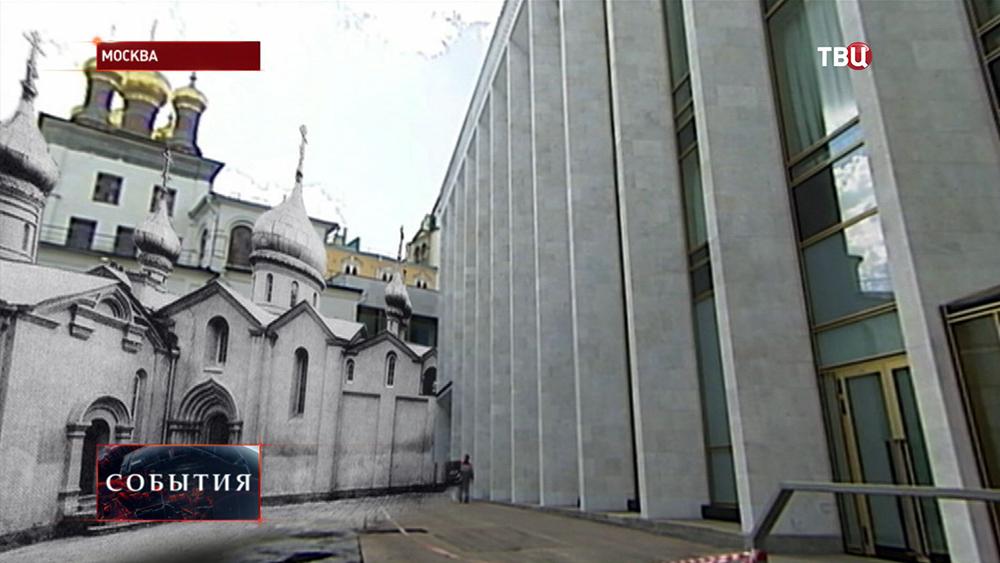 Снесенные постройки Московского Кремля