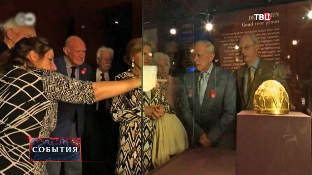 выставка коллекции золота скифов в Амстердаме