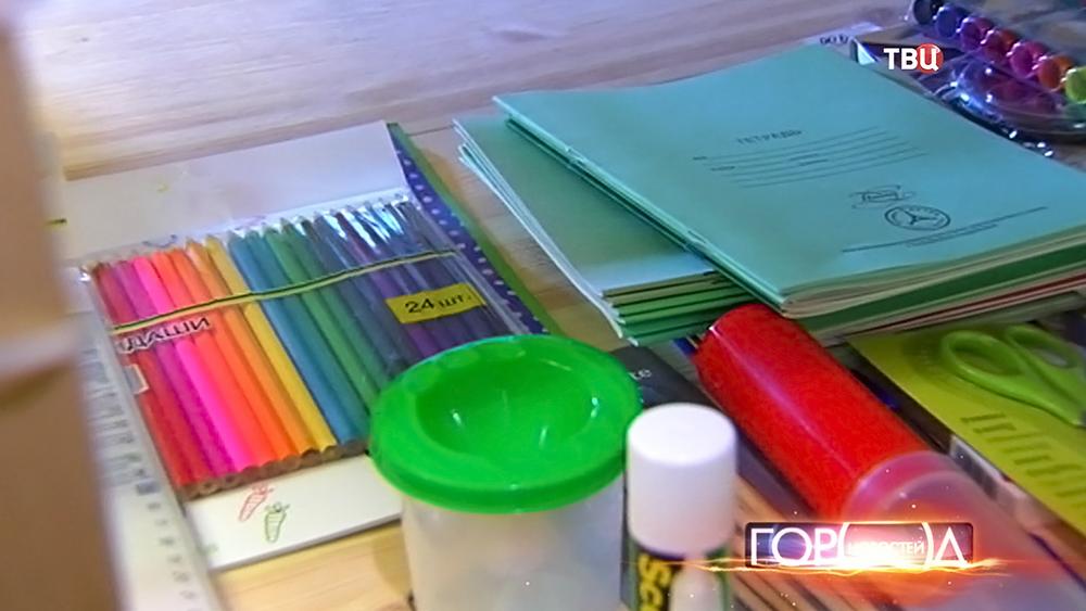 Помощь детям-беженцев с Украины в соборах в школу