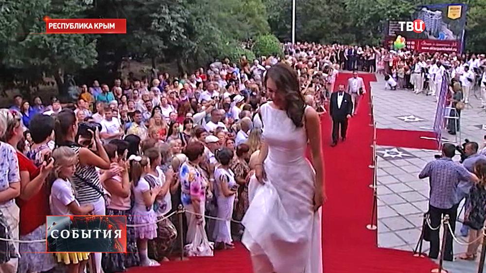 Открытие фестиваля в Крыму