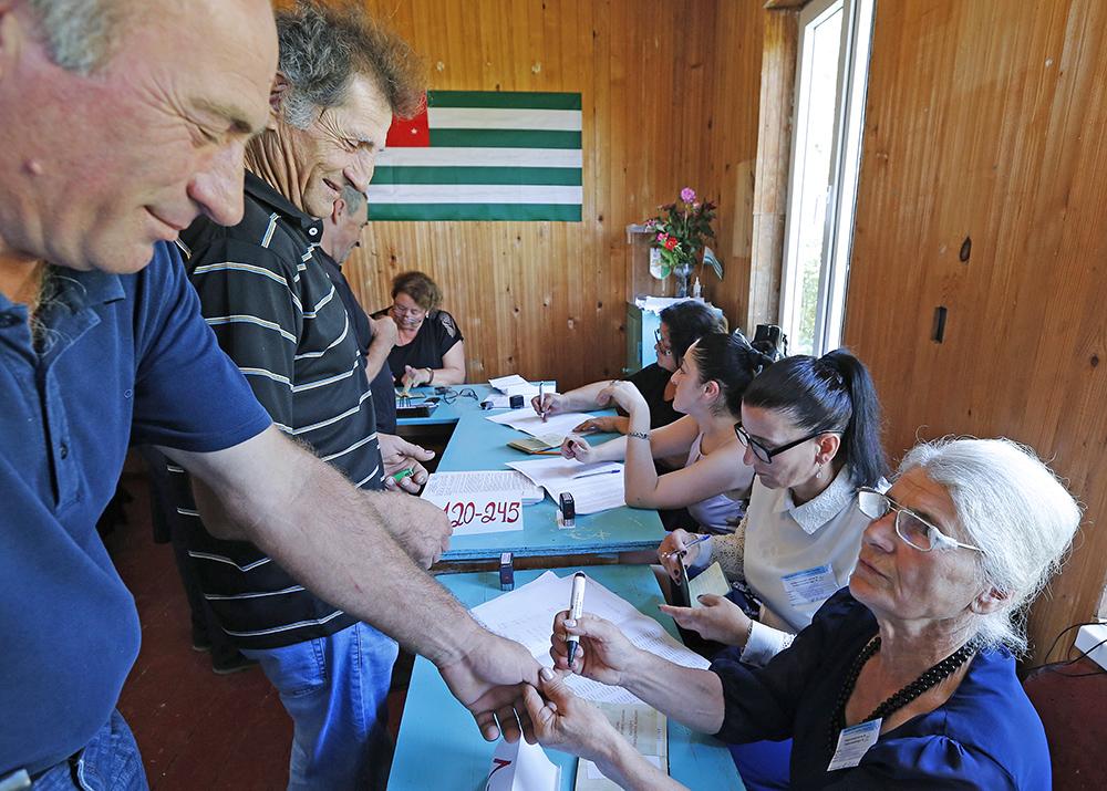 Выборы в Абхазии