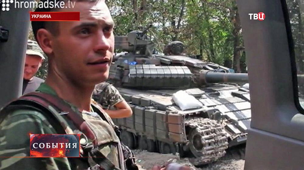 Народные ополченцы на юго-востоке Украины
