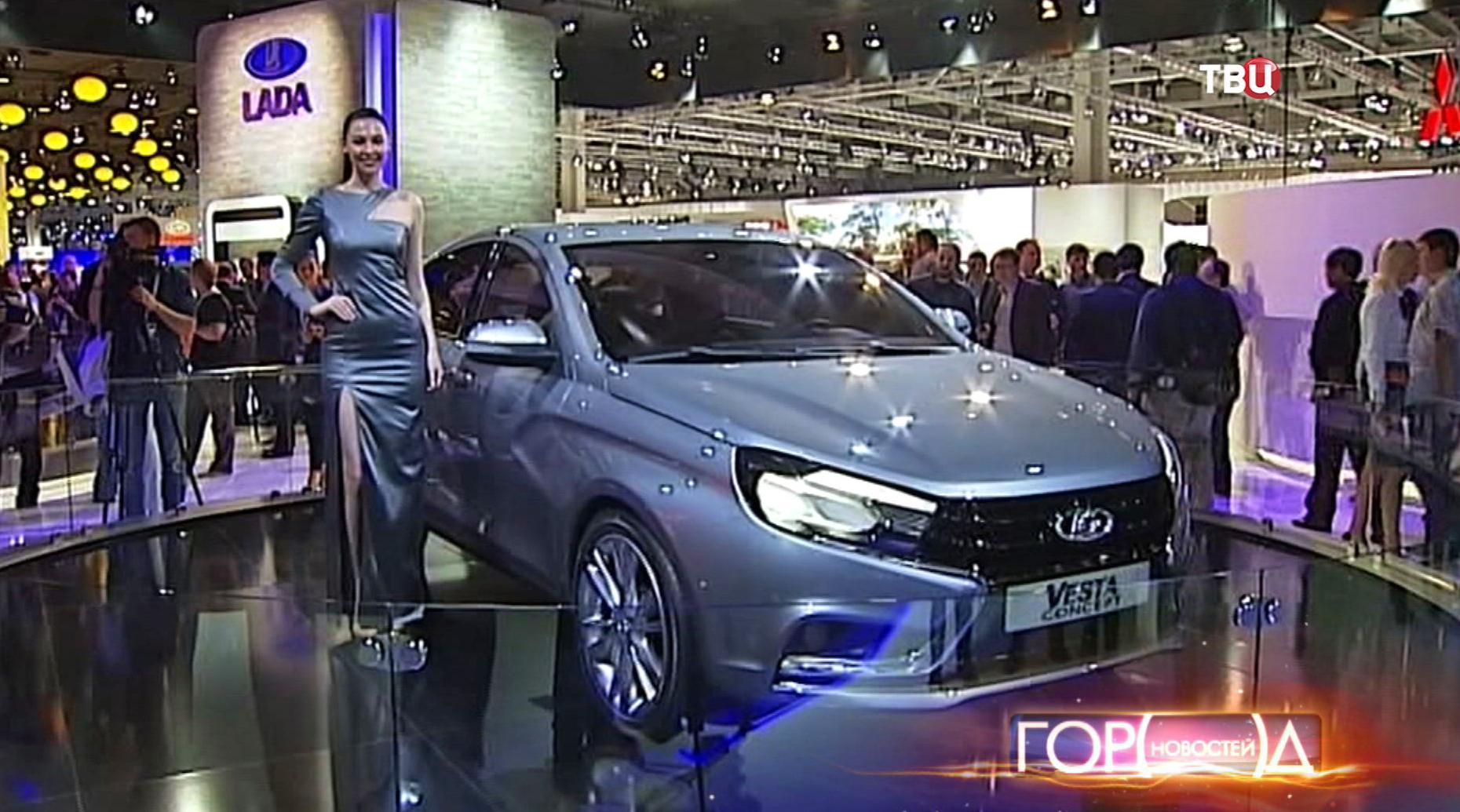 Международный автосалон в Москве