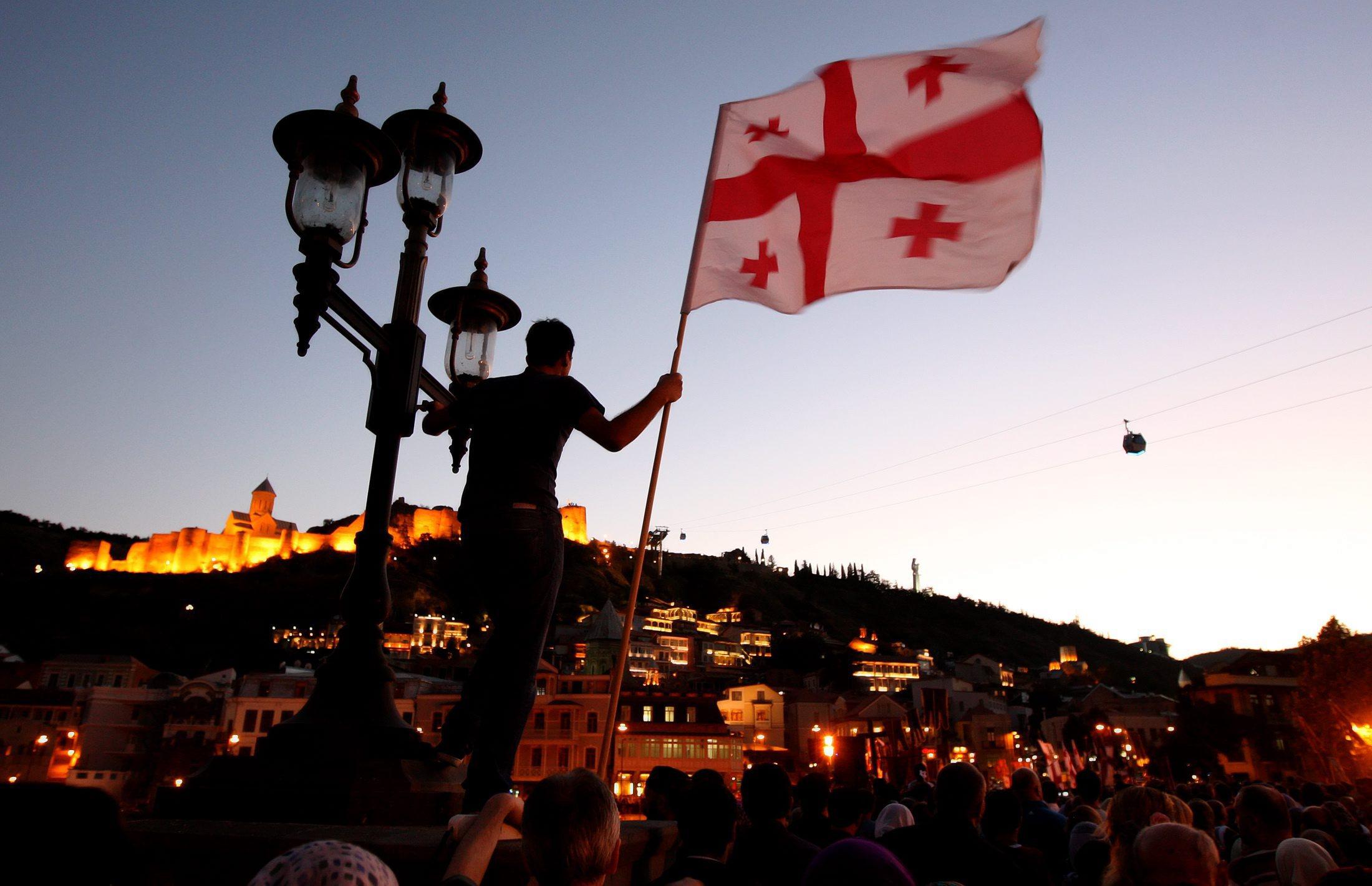 фото грузии флаг