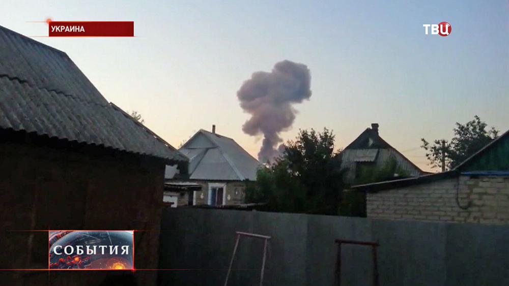 Обстрел жилых районов на юго-востоке Украины
