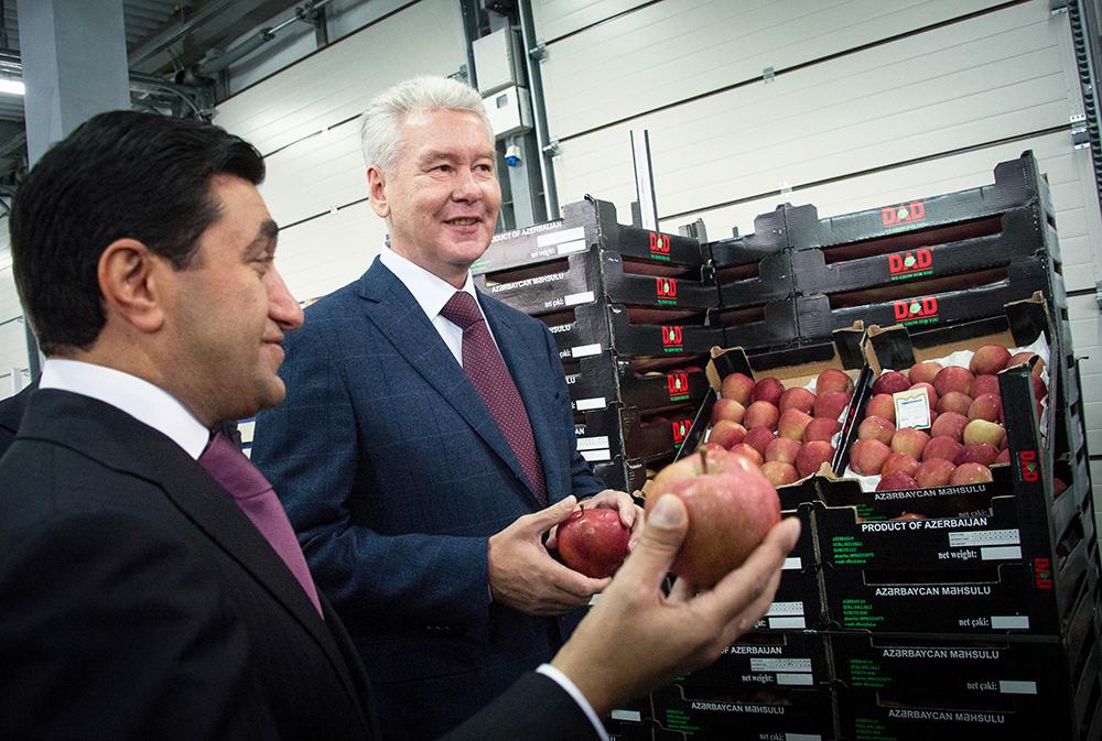 Сергей Собянин посетил открытие оптово-продовольственного центра