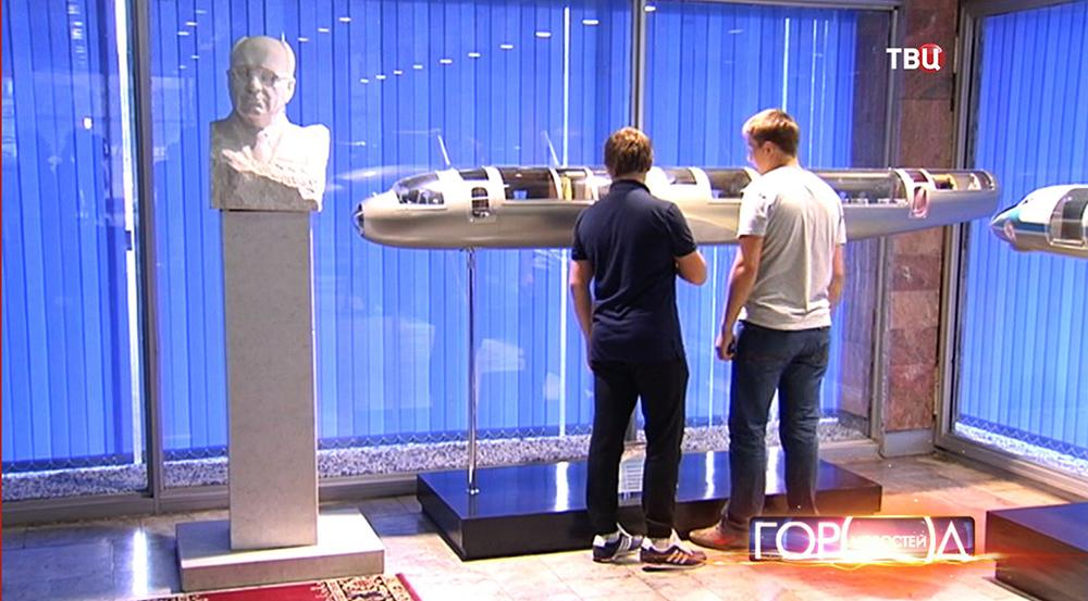 Экскурсия на авиационном заводе имени Туполева