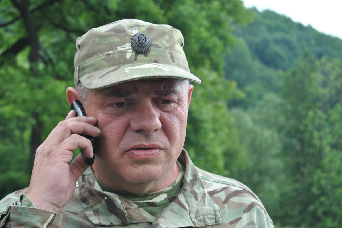 "Командир батальона ""Прикарпатье"" Виталий Комар"