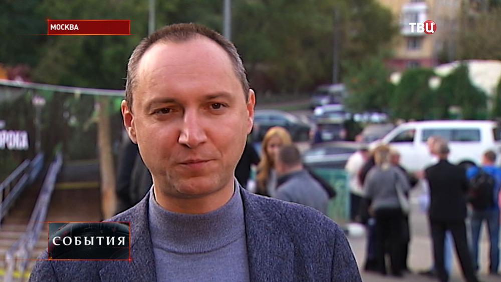 Генеральный директор строительной фирмы Олег Сорока