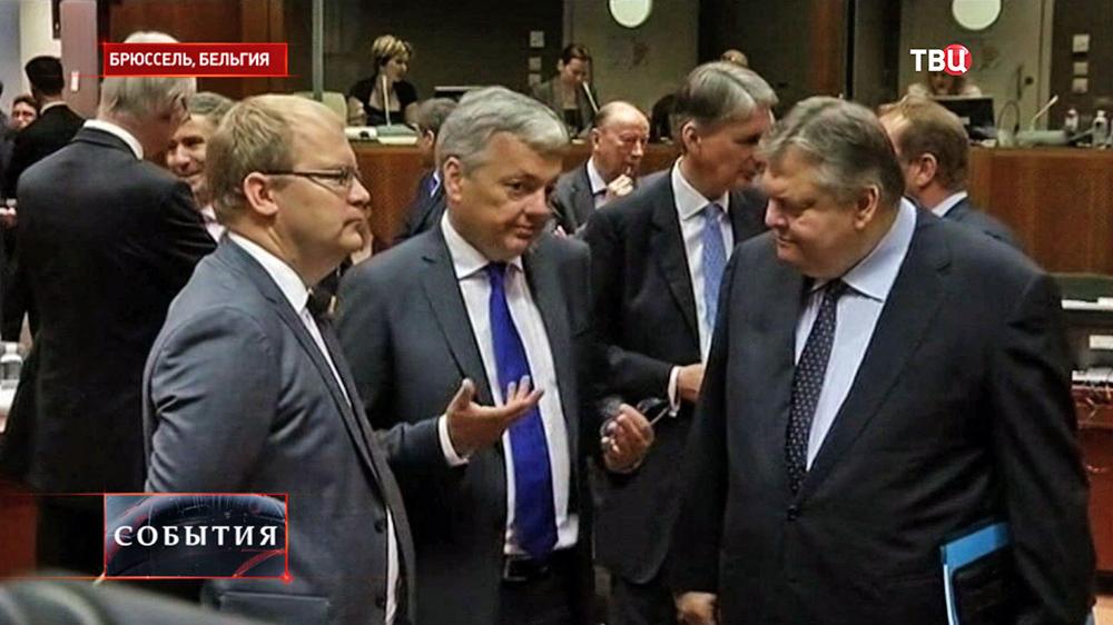 Заседание Еврокомиссии в Брюсселе