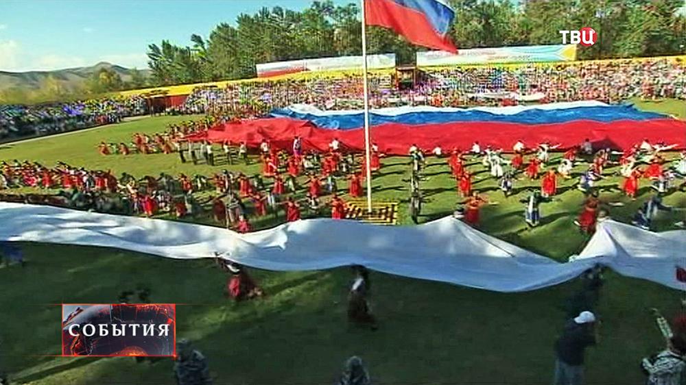 Празднование 100-летия вхождения Тувы в состав России