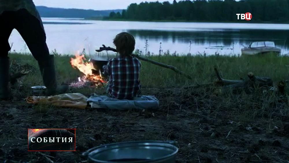 """Кадры из фильма """"Белые ночи почтальона Алексея Тряпицына"""""""