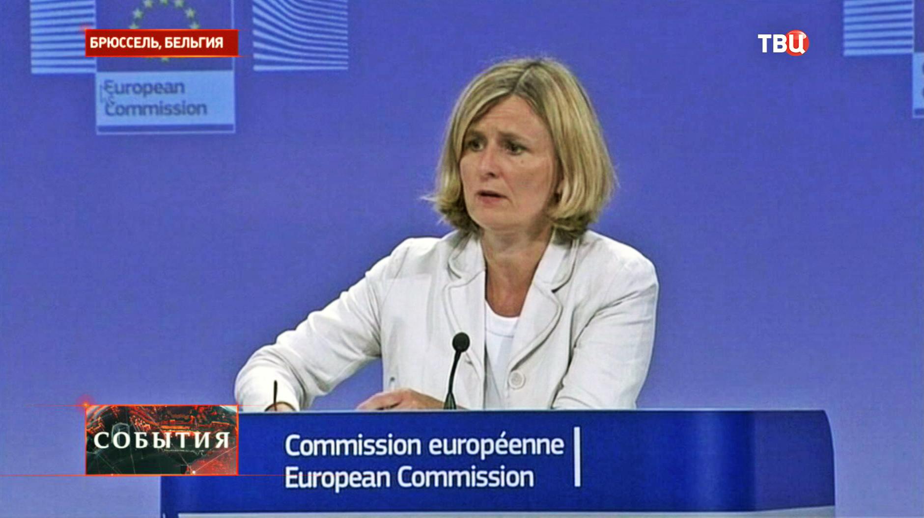 Официальный представитель Еврокомиссии Аренкильде Хансен
