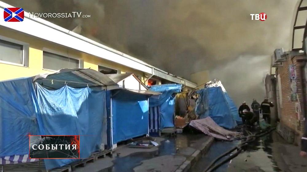 Последствия обстрела юго-востока Украины