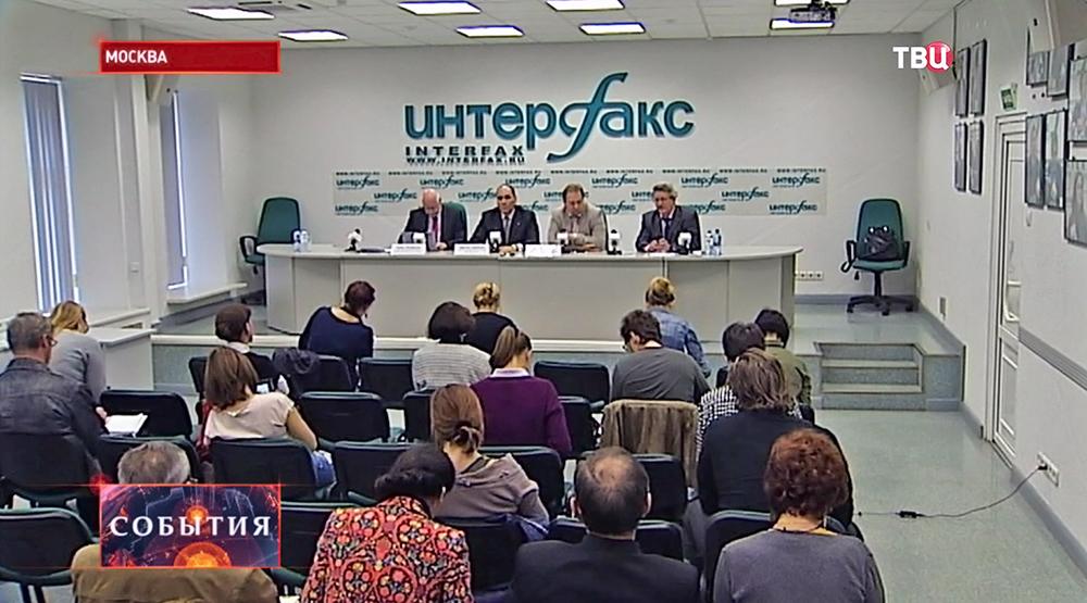 Пресс-конференция по итогам выборов в Мосгордуму