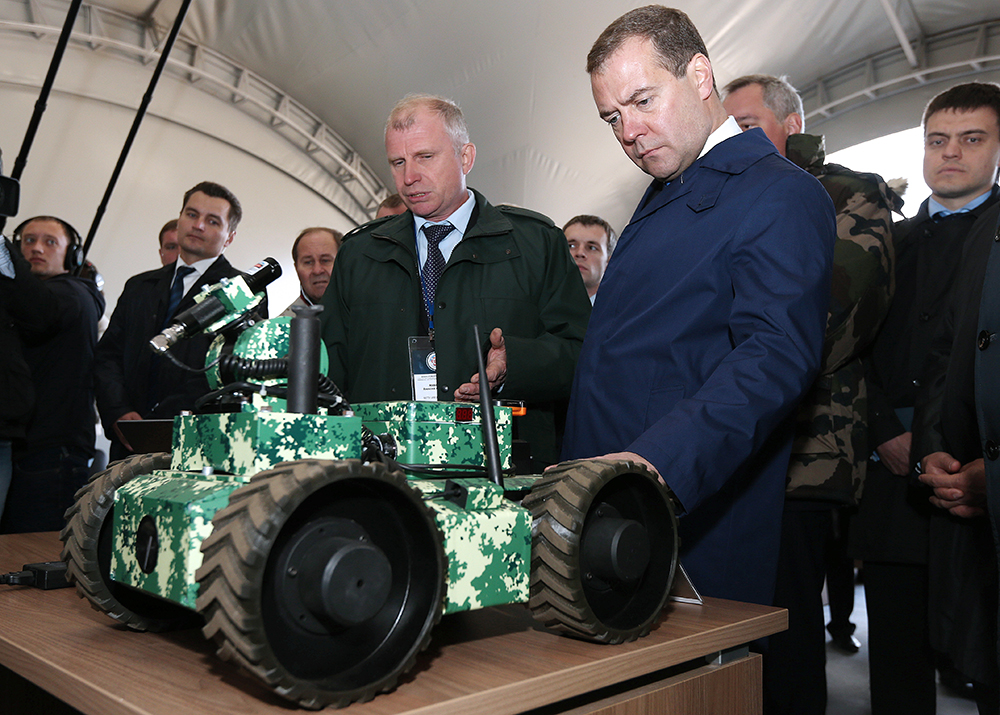 Рабочая поездка премьер-министра РФ Д.Медведева в Красноармейск