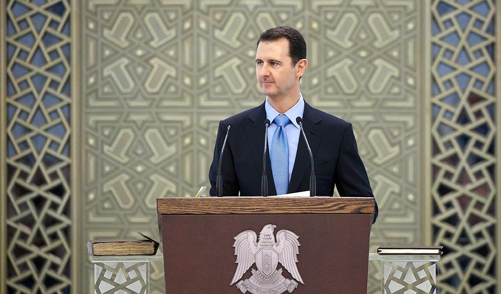 Президента Сирии Башар Асад